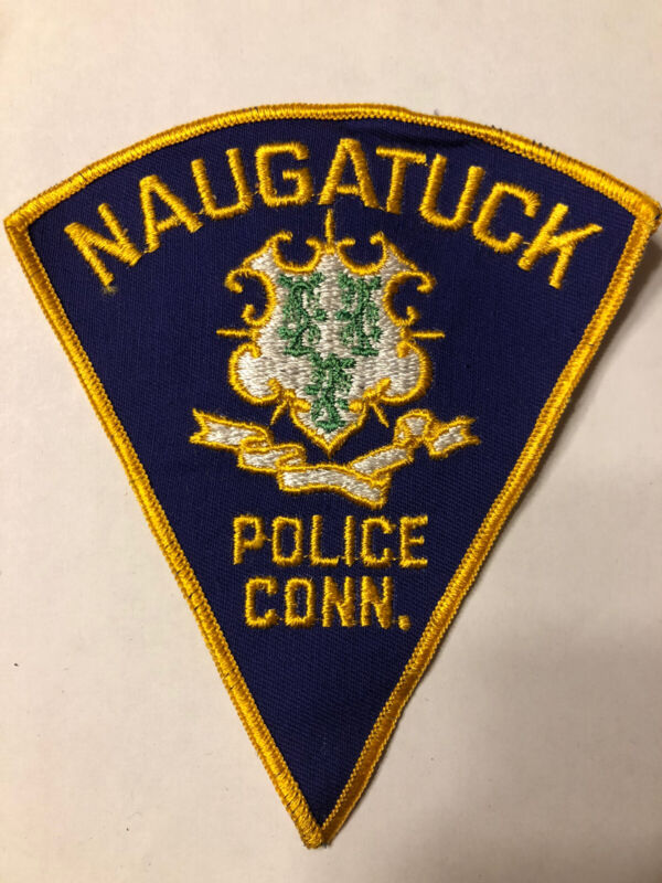Naugatuck Connecticut Police Patch ~ Obsolete