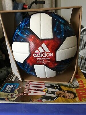 Adidas MLS Nativo Questra 2019 White Navy Red Match Top soccer ball size 5