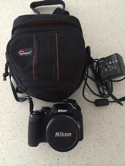 Nikon COOLPIX P520 + adapter and case Holtze Litchfield Area Preview