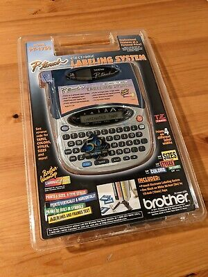 Brother P-touch Pt-1750 Electronic Label Printer System Printing New