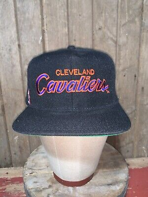 VINTAGE 80s 90s Cleveland Cavaliers NBA Sports Specialties Hat Snapback Youngan