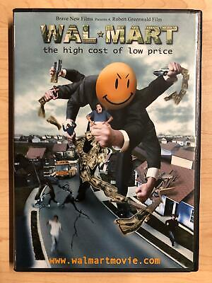 Wal-mart - The High Cost of Low Price (DVD, 2005) -