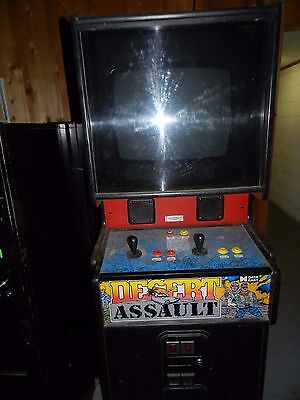 Vintage 1991 Desert Assault Video Game by Data East needs keys in Rockford IL