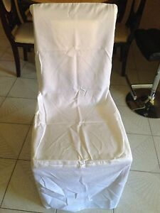 White chair covers( cheaper than hire) Beckenham Gosnells Area Preview