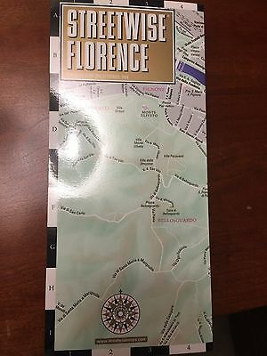 Brand NEW Streetwise Florence, Italy City Center Street Travel Map VERY RARE!