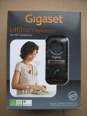 Gigaset L410 Hands-free clip for DECT cordless phones rechargeable Black EU plug