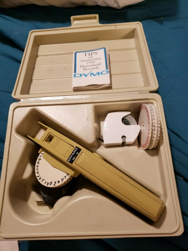 Vintage DYMO Label Maker M-6