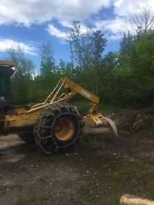 John deere 648 G3 grapple skidder