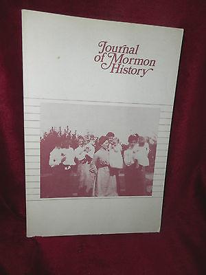 JOURNAL OF MORMON HISTORY Volume 11 1984 LDS Mormon Book  ()