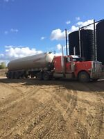 Class 1 Driver with oil hauling experience