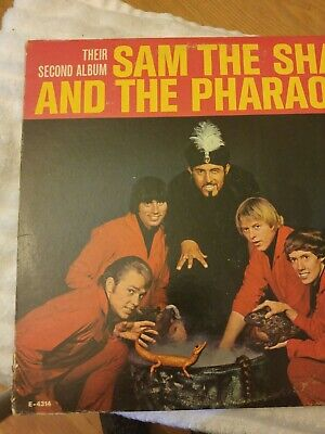 Sam The Sham and The Pharaohs Their Second Album LP MGM Records