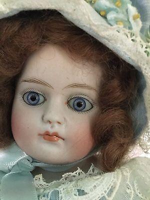 Antique German Bisque Early KESTNER ? Closed Mouth Turned Shoulder Head Kid Body