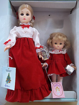Effanbee Dolls Christmas Eve Together - Mom and Patsy Ann - Excellent in Box