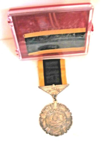 Silver. Missouri National Guard 15 Year Long Service Medal