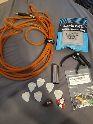 Electric guitar accessories starter lot