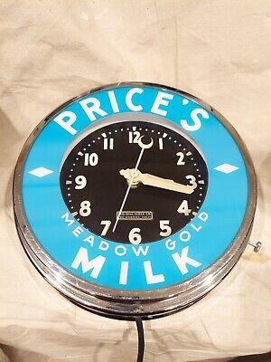 Vintage Glo- Dial Neon Clock