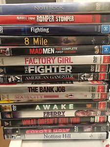 Assorted DVDs Mount Hawthorn Vincent Area Preview