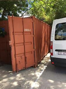 Shipping Container with inbuilt storage Graceville Brisbane South West Preview