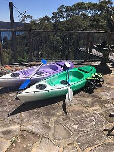 2 x kayaks Palm Beach Pittwater Area Preview