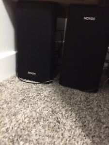 DENON AV surround RECEIVER - AVR- 1312 and 5 speakers and sub