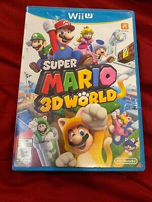 Super Mario 3D World (Nintendo Wii U, 2013) - Cleaned, Tested