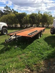Flat top trailer Hobart CBD Hobart City Preview