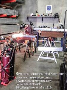 NEW STEEL SOLUTION-FOR STEEL WELDING AND FABRICATION Smithfield Parramatta Area Preview