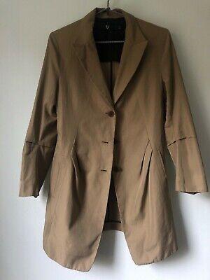 Uniqlo jil sander jacket beige tan +J size small