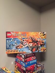 Lego Chima lot 70224, 70146, 70145 sets in boxes  books complete