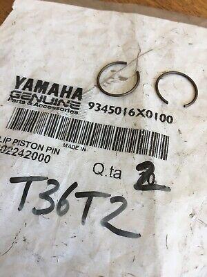 Yamaha 93450-16X01 X2 Circlips Eje Pistón YP125E YP125D XQ125 YP180 YP150 Etc, usado segunda mano  Embacar hacia Spain
