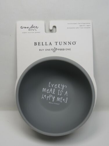 Bella Tunno Silicone Suction Bowl, Perfect for Babies, Toddlers, Girls, Boys,...