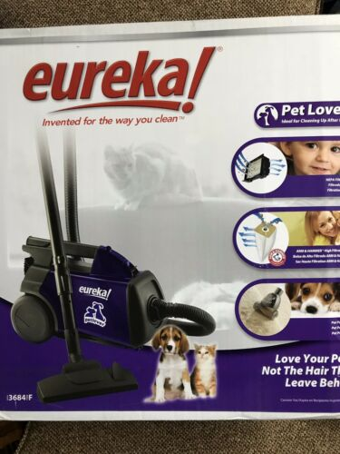 Eureka 3684F Mighty Mite Pet Lover Canister Vacuum Cleaner *