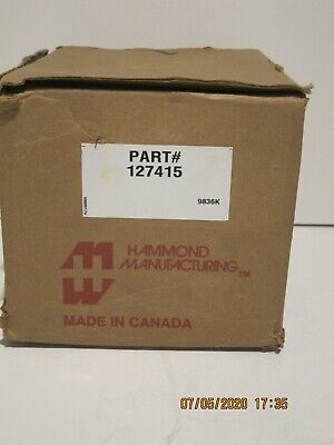 Hammond 127415 Transformer 750 Va 200230460 Vac Brand New In Box Free Shippin