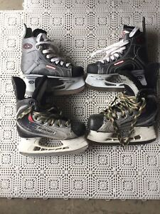 Size 1&12 kids hockey skates