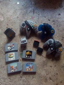 Nintendo64 games and assorted  n64