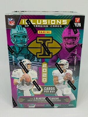 2020 Panini Illusions Football Blaster Box Brand New Sealed