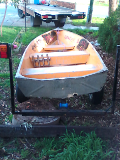 12 foot dingy and trailer