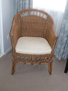 Wicker Chair Naremburn Willoughby Area Preview