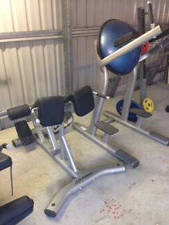 Abdominal Machine great condition as new with swiss ball