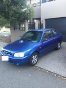 2002 Hyundai accent LC GL 1,5L 5 speed manual hatchback Fremantle Fremantle Area Preview
