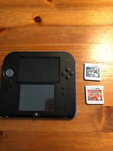 Selling Nintendo 2ds with 2 games
