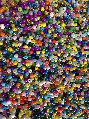 Wholesale Loom 1000pcs Bulk 6/0 Glass Seed Bead 100g AWESOME DEAL Spring (Awesome Glasses)