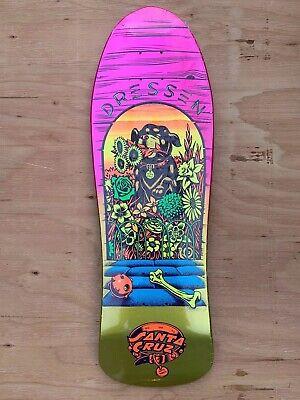 Vintage skateboard sticker dogtown eric dressen pup size wes humptson art NOS