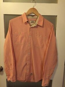Vans Long Sleeve Button Up Rose