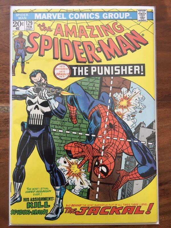 Amazing Spider-Man 129 Punisher Deadpool New Mutants 87 XMen GRAB BAG/CHASE READ
