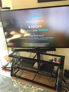 """Samsung 60"""" ultra HD Smart TV with stand"""