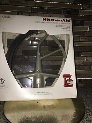 ^^ KITCHENAID KAFE7L BOWL-LIFT FLEX EDGE BEATER 7QT & 8QT - NEW