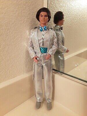 JEWEL SECRETS KEN fashion doll Superstar loose 1986 minty condition Silver Suit