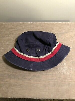 Vintage Abercrombie & Fitch BUCKET HAT Cap Small Blue