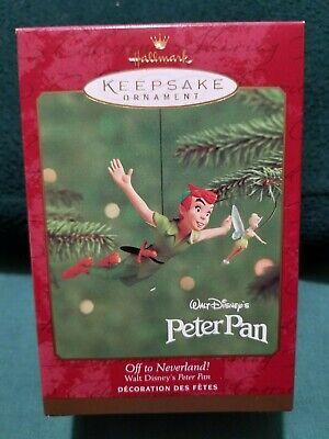 Hallmark Ornament Walt Disney's Peter Pan